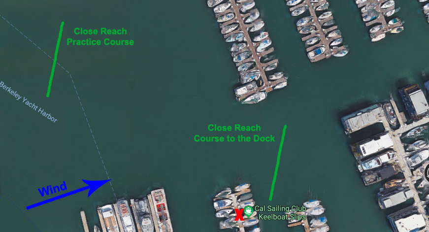Berkeley Marina CSC Slips Close Reach