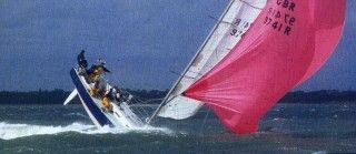 Downwind sailing and the evils of rounding up